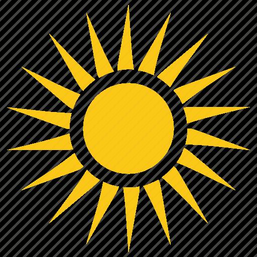 Solar sun, summer, sun, sun rays, sunshine icon - Download ...