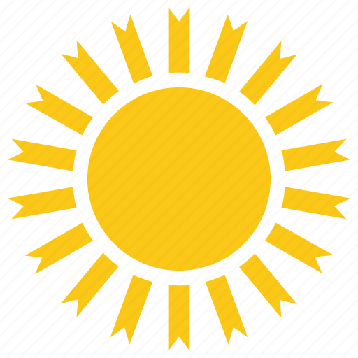 flowersun, sun design, sun shape, sun symbol, sunflower icon