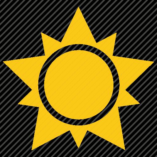 Cartoon sun, comic sun, solar sun, star sun, sun design icon - Download on Iconfinder
