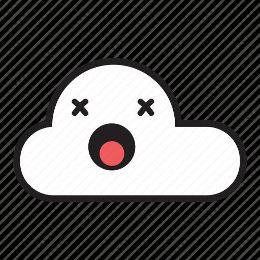 cloud, dead, monsoon, rain, raining, sky icon