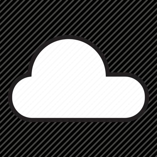 cloud, clouds, monsoon, rain, raining, sky icon