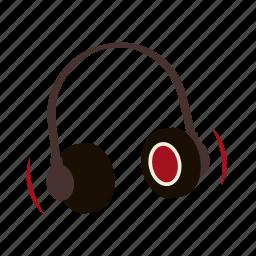 concert, dj, headphones, listen, loud, music, playlist icon