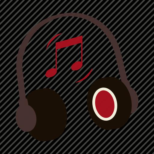 coffee shop, headphones, listen, loud, music, musical note, rock icon