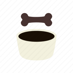 bone, dog, dog food, feed, pet, pet food icon
