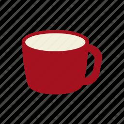coffee, cup, drink, hot chocolate, mug, tea, warm milk icon