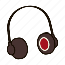 dj, earphones, headphones, listen, music, rap, song icon