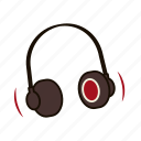 beats, dj, earphones, headphones, listen, music, song icon