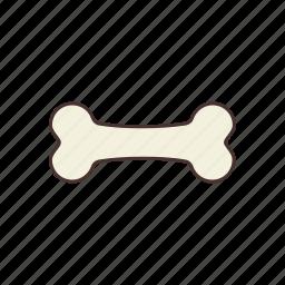 bark, bone, canine, dog, dog food, feed, pet food icon