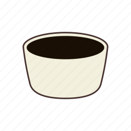 bowl, cereal, dish, food, kitchen, restaurant, soup icon