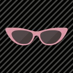 cat, eye, summer, sunglasses icon
