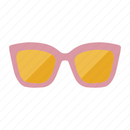 fahion, girl, summer, sunglasses icon