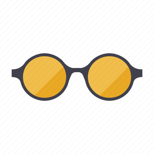 fashion, glasses, round, summer, sunglasses icon