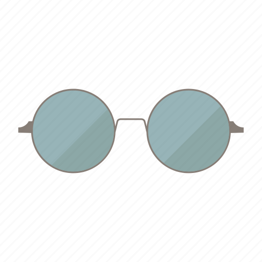 glasses, round, summer, sunglasses icon
