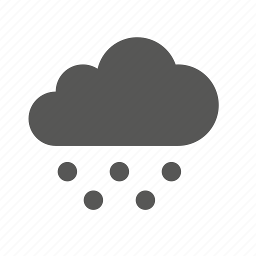 cloud, clouds, cloudy, heavy, snow, weather, winter icon