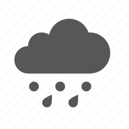 cloud, clouds, cloudy, forecast, rain, snow, weather icon