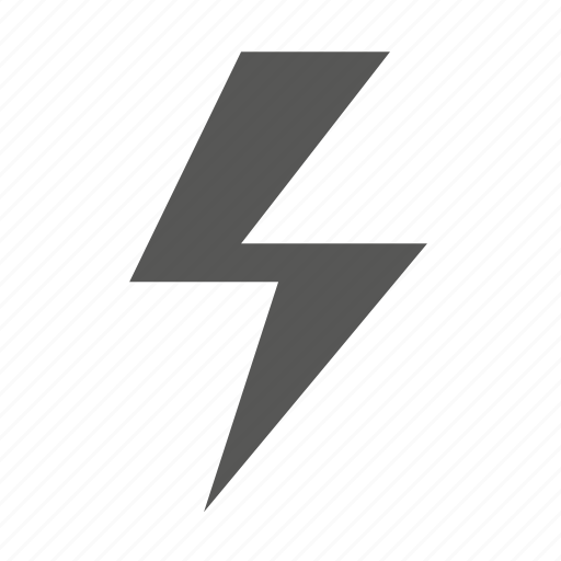 flash power shock, forecast, storm, weather icon