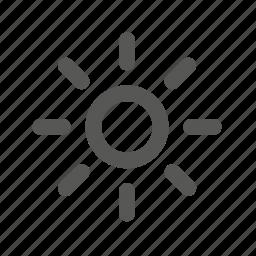 forecast, hot, idea, light, summer, sun, weather icon