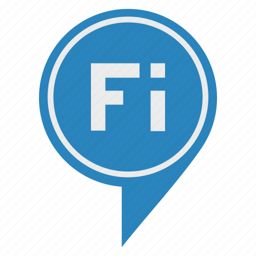 fi, land, pointer, suomi icon
