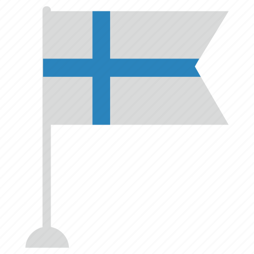 color, finland, flag, national, suomi icon