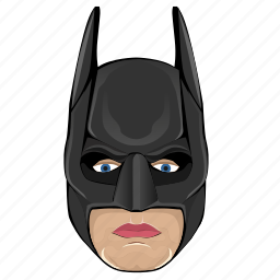 avatar, batman, comics, face, hero, mask, skin icon