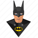 avatar, batman, comics, face, mask, skin icon