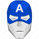 america, avatar, capitan, comics, face, hero, mask icon