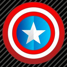 america, avatar, capitan, comics, hero, man, shield icon