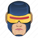 avatar, comics, cyclops, hero, man, superhero icon