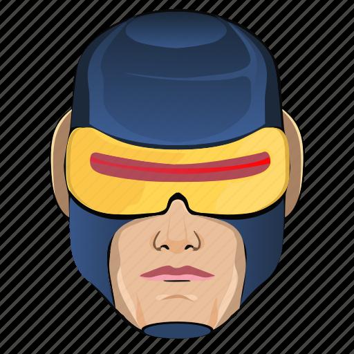 avatar, comics, cyclops, hero, man, superhero icon