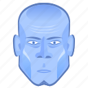 avatar, comics, head, hero, iceman, super icon