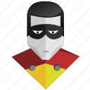 avatar, comics, face, hero, man, mask, robin icon