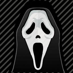 avatar, comics, hero, horror, mask, scream icon