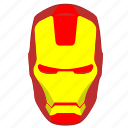 avatar, comics, head, hero, iron, man, skin icon