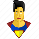 avatar, comics, hero, man, superman icon