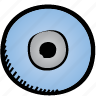 compact, disc icon