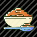 superfoods, lentil, lentils icon, porridge icon