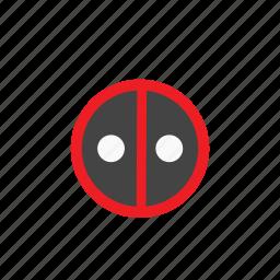 deadpool, marvel, superhero icon
