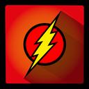 super, flash, hero icon