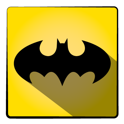 bat, batman, hero, super icon