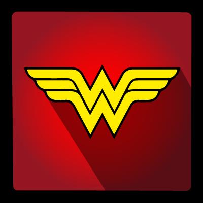 hero, super, wonderwoman icon