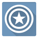 america, c america, captain icon
