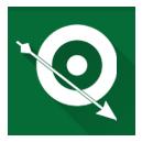 arrow, green, green arrow icon