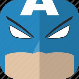 avatar, captain america, comics, superhero icon
