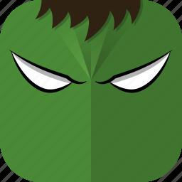 avatar, comics, hulk, incredible hulk, superhero icon