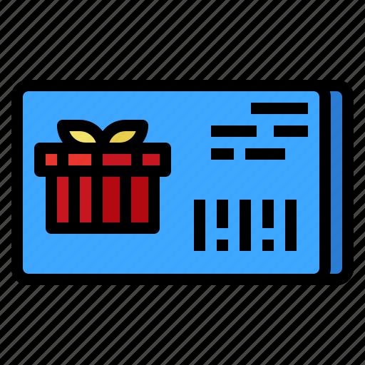 card, commerce, debit, gift icon