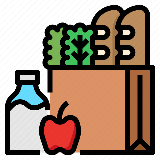 food, groceries, ingredients, vegetables icon