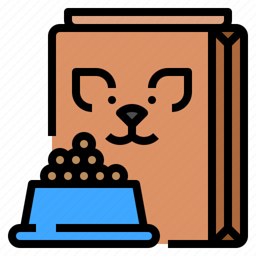 food, meal, pet, supplies icon