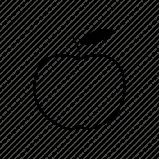 apple, food, fruit, supermarket icon