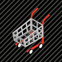 cart, commerce, isometric, market, retail, sale, store icon
