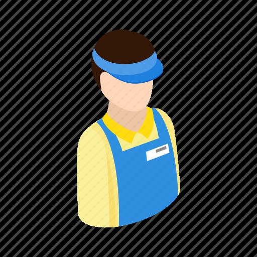 cashier, isometric, market, retail, shop, store, supermarket icon